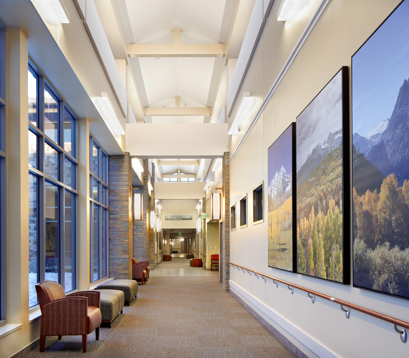 David Patterson Photography/Photography of Architecture+ Interiors, Health Care Facilities, Colorado