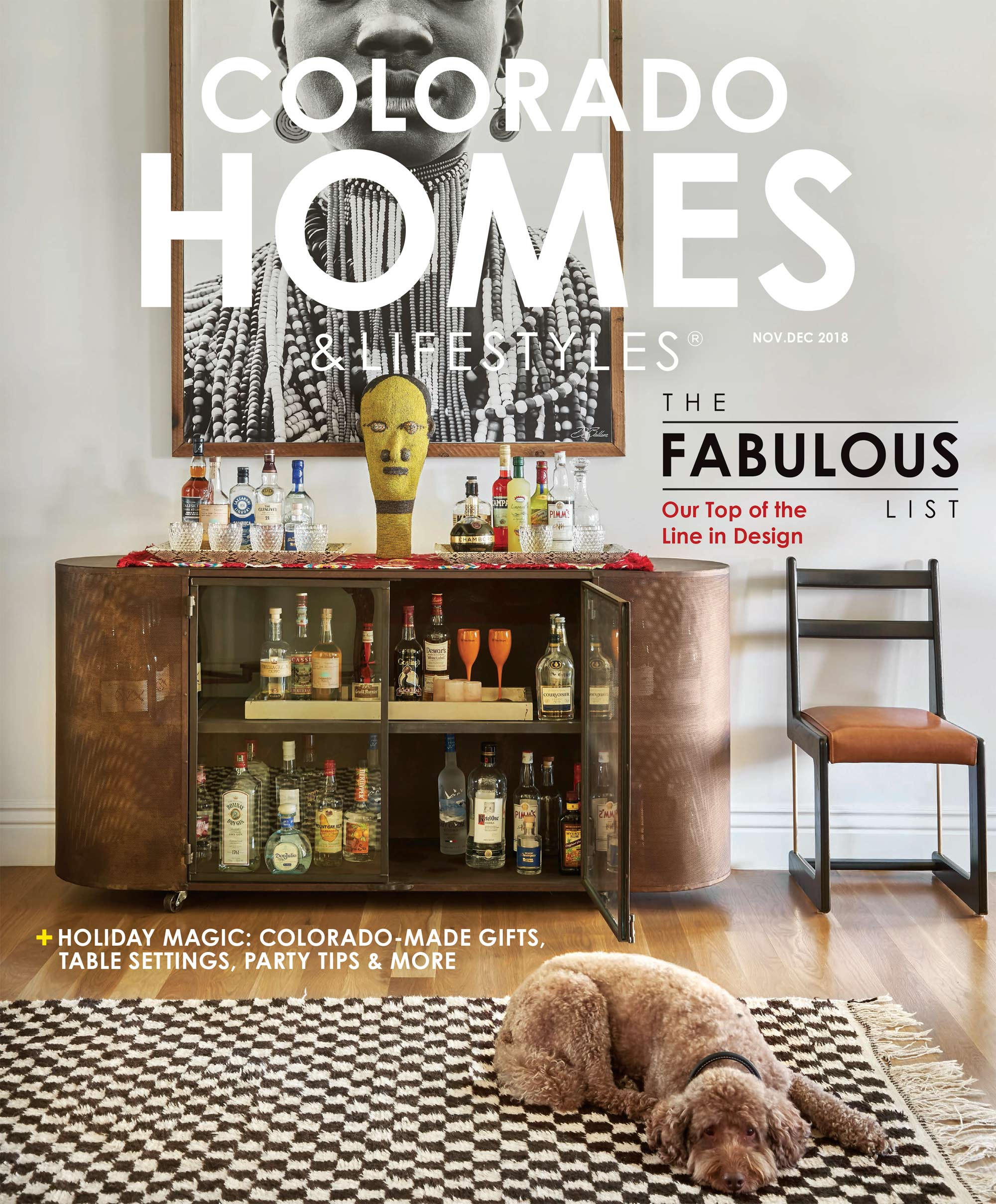 Colorado Homes and Lifestyles  Magazine David Patterson Photography of Interior Design Architecture  Denver  Colorado