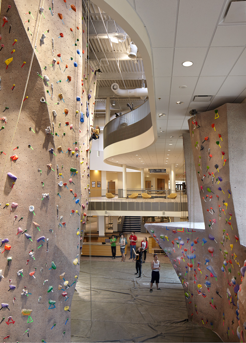 David Patterson Photography/Photography of Architecture+ Interiors, Colorado, K-12, Higher Education, Climbing-Wal CU< Boulder, Colorado