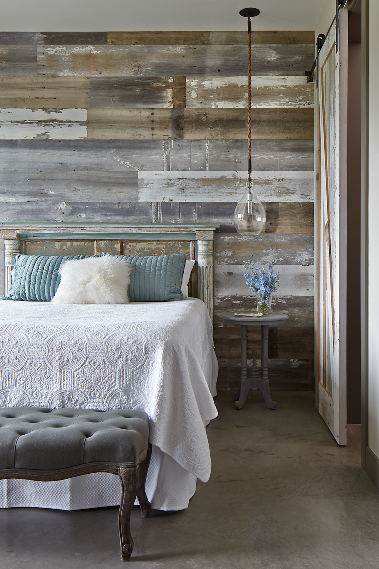 Country  Bedroom Colorado David Patterson Photography