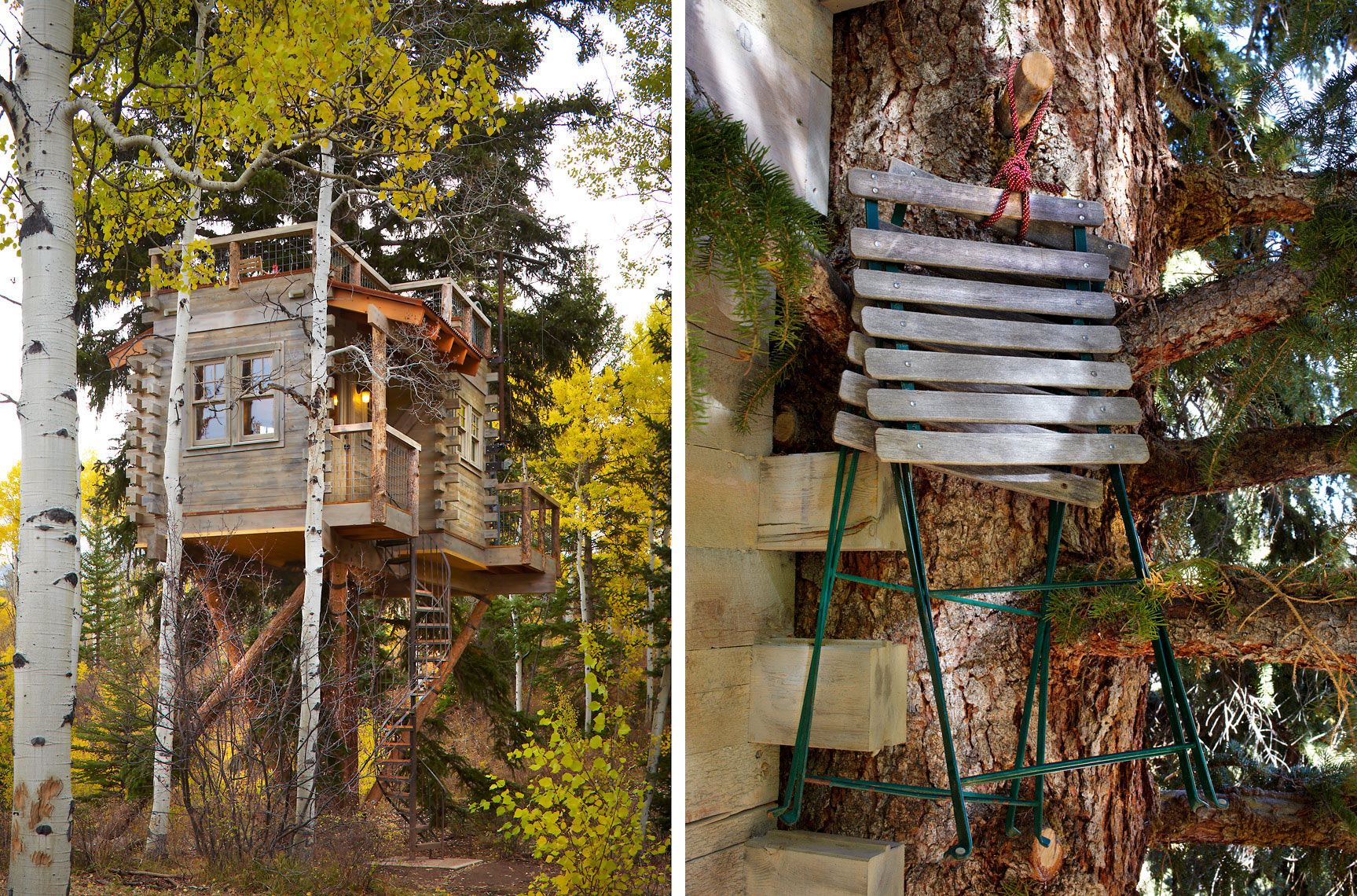 Colorado Treehouse David Patterson Photographer of Architecture + Interiors, Denver, Colorado, Steamboat Springs, Vail, Aspen
