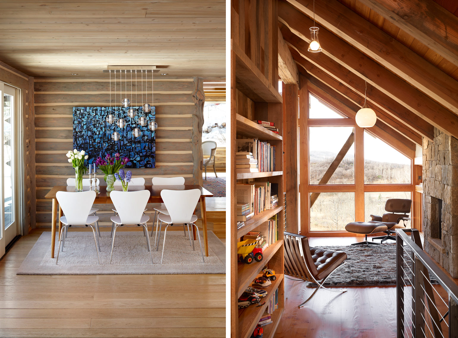 Modern Mountain Cabin, Colorado David Patterson Photographer of Architecture + Interiors, Denver, Colorado, Steamboat Springs, Vail, Aspen