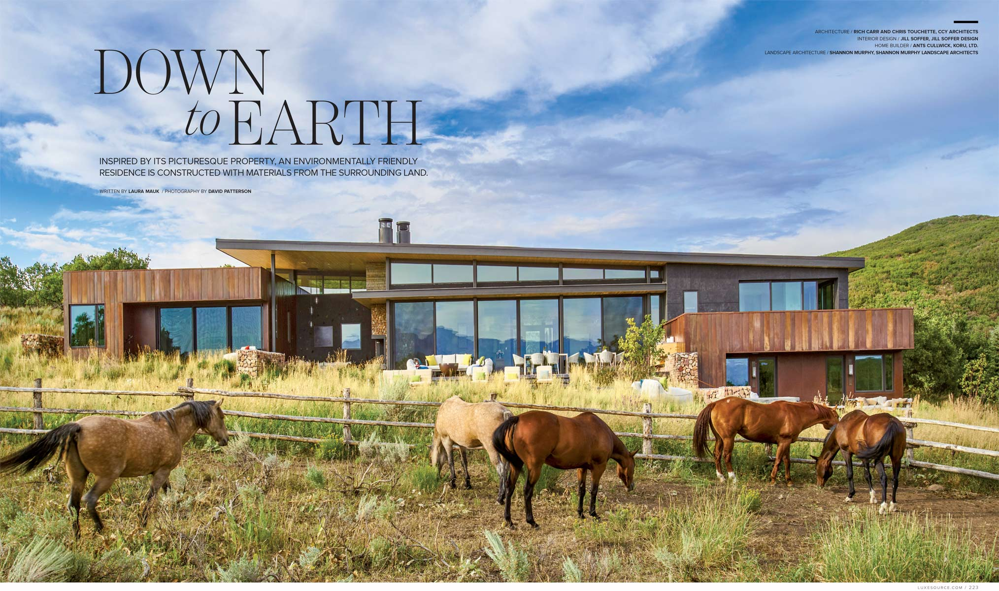 Colorado Modern Architecture David Patterson Photography Aspen Colorado Luxe Magazine